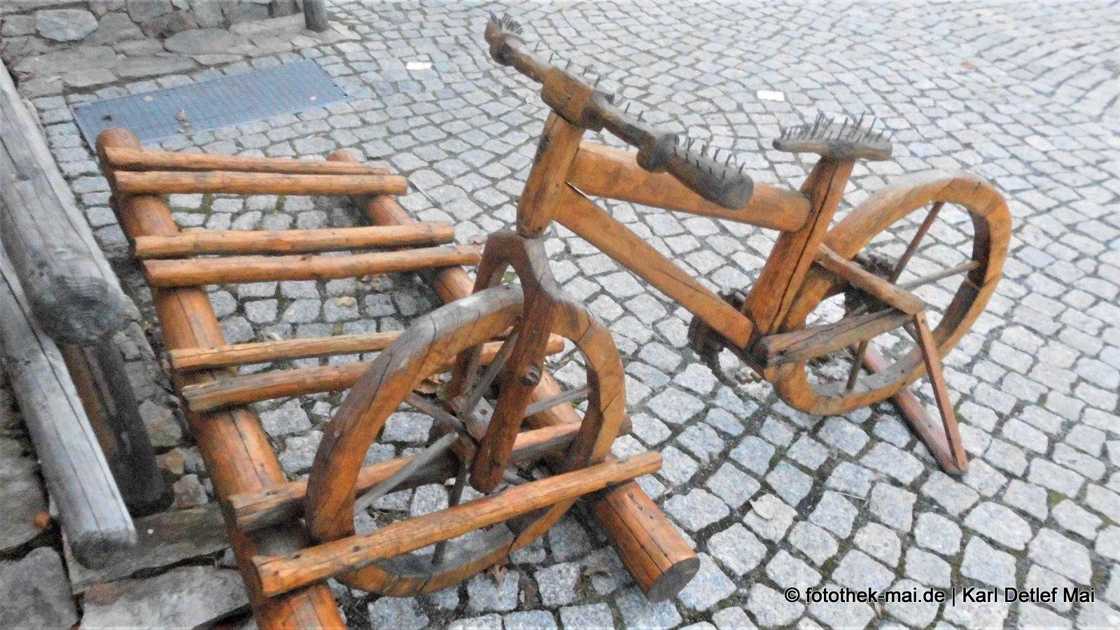 Minus-Zins-Fahrräder // Gasthaus Fichtenschenke, Bad Flinsberg (PL)