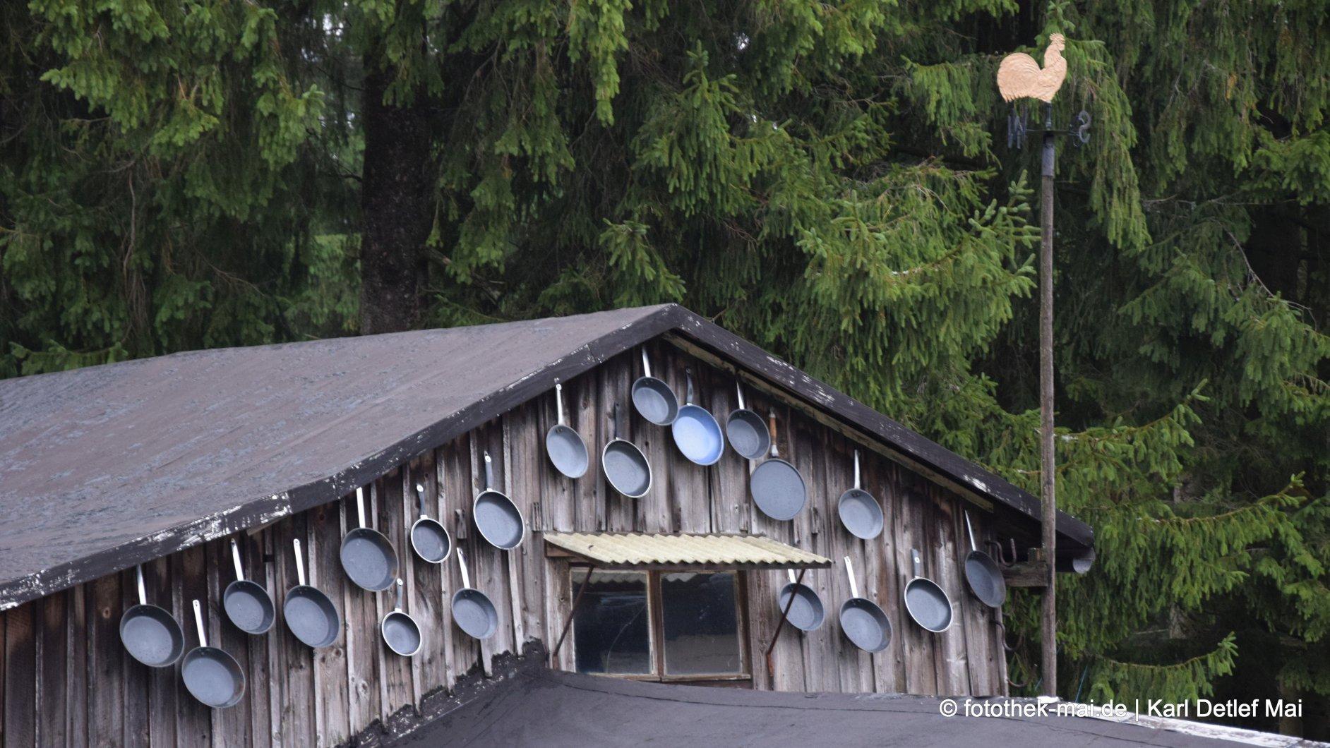 Deko statt Bewirtung // Beispiel - Es lebe das Forsthaus Sattelbach bei Oberhof