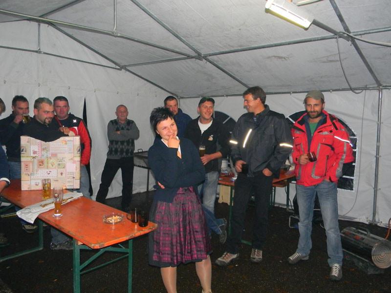 12.10.2013 Eröffnungsfeier Olmreasl Blumen Klobenstein
