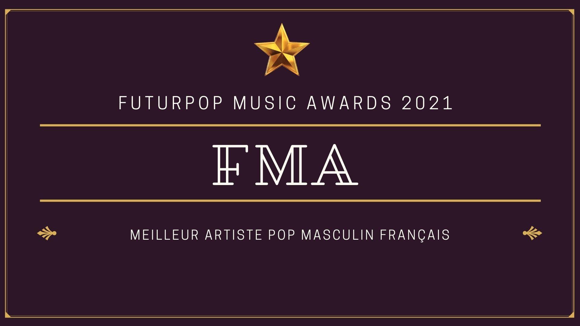 #FMA 2021 : Quel est le Meilleur Artiste Pop Masculin Français ?  Votez !