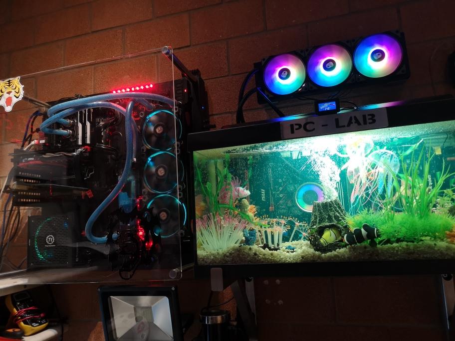 PC castom e pc acquario