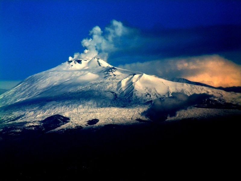 Etna Volcan Sicily