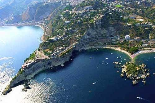 Taormina Vista aerea