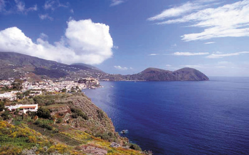 Lanscape isole eolie