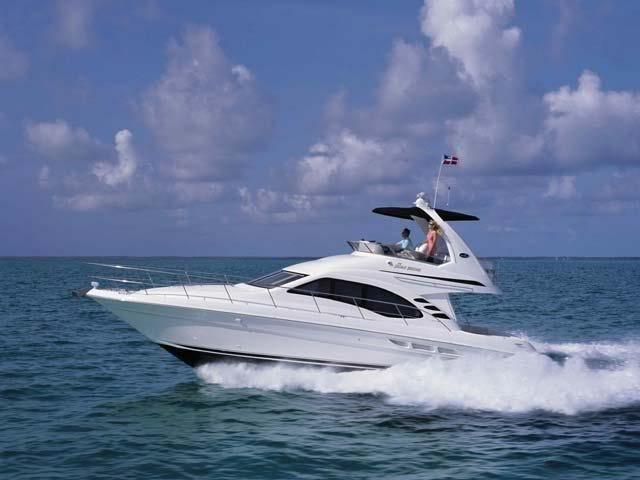 "Sea ray 455"" Fly  Summer Cabin Charter"
