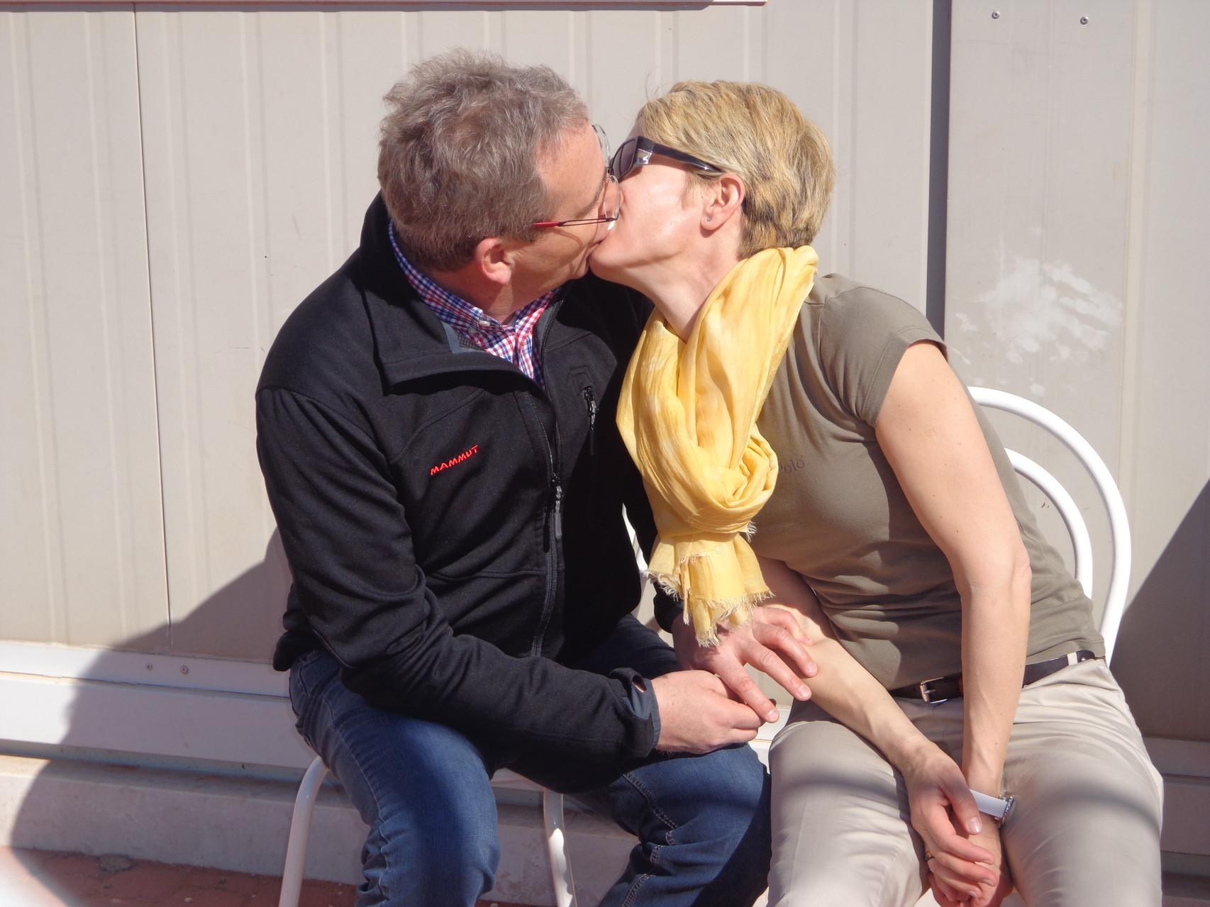 und ein Küsschen