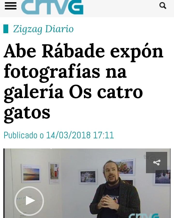 Abe Rábade fala no Zig Zag