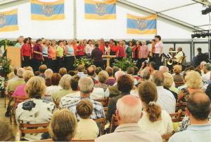 Auftritt 600-Jahr-Feier Lauenbrück
