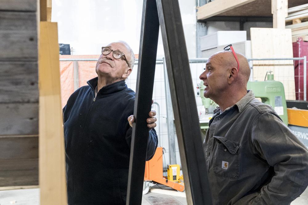Wolfgang Warnke und Harry Schaffer