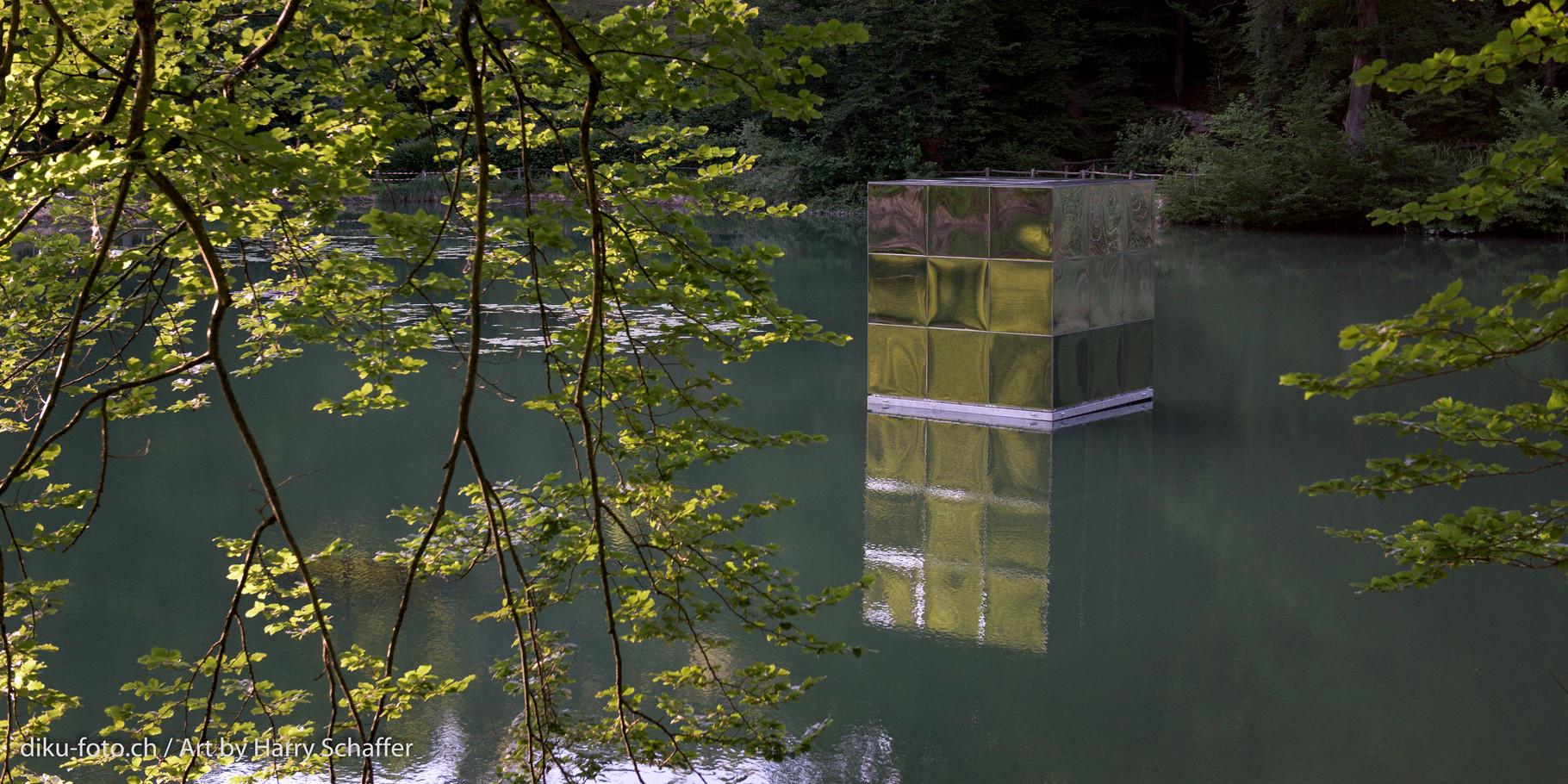 Die ersten Fotos vom Floating Cube