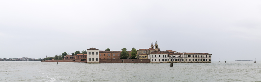 Barbed Circle in Venedig mit Harry Schaffer und Dieter Küng