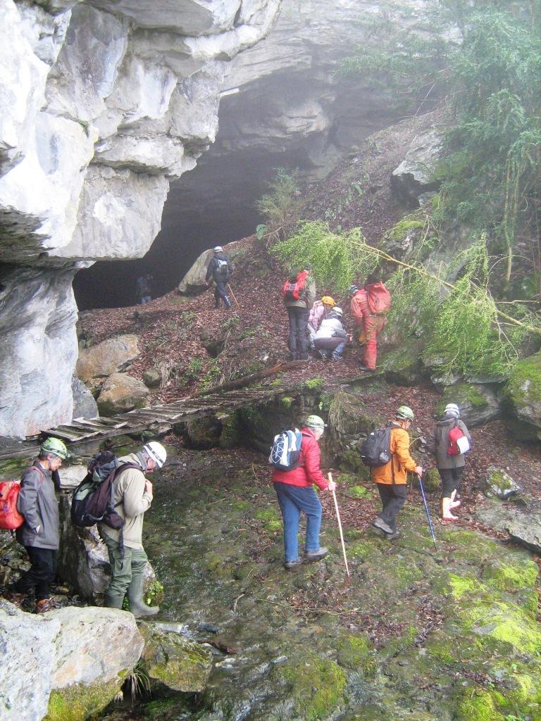 La grotte des Eaux-Chaudes