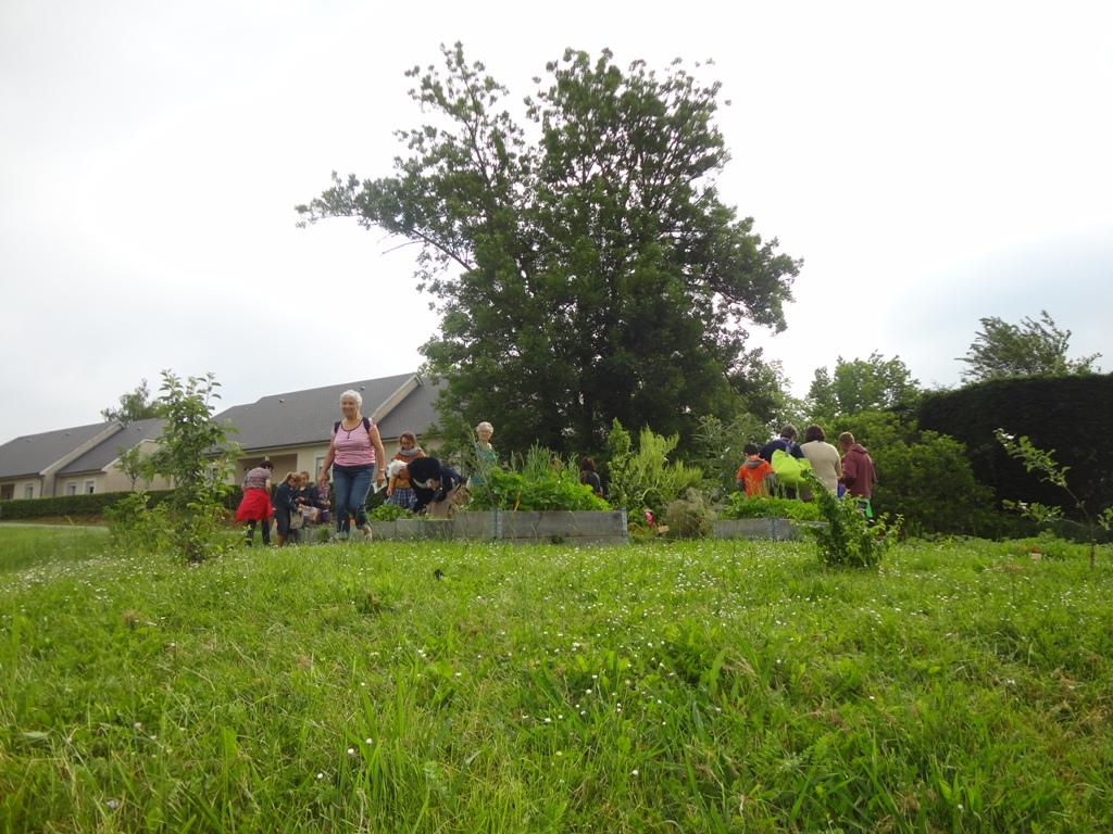 Atelier jardin à Thèze