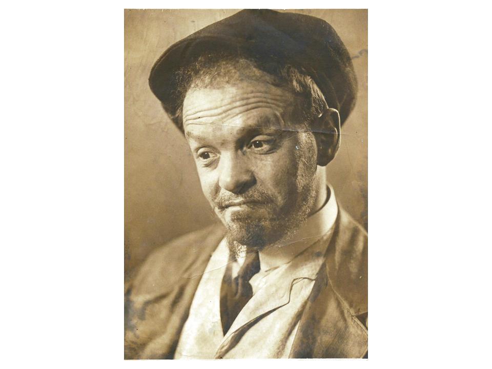 """פיני ב-""""בהלה לאושר"""", 1936"""