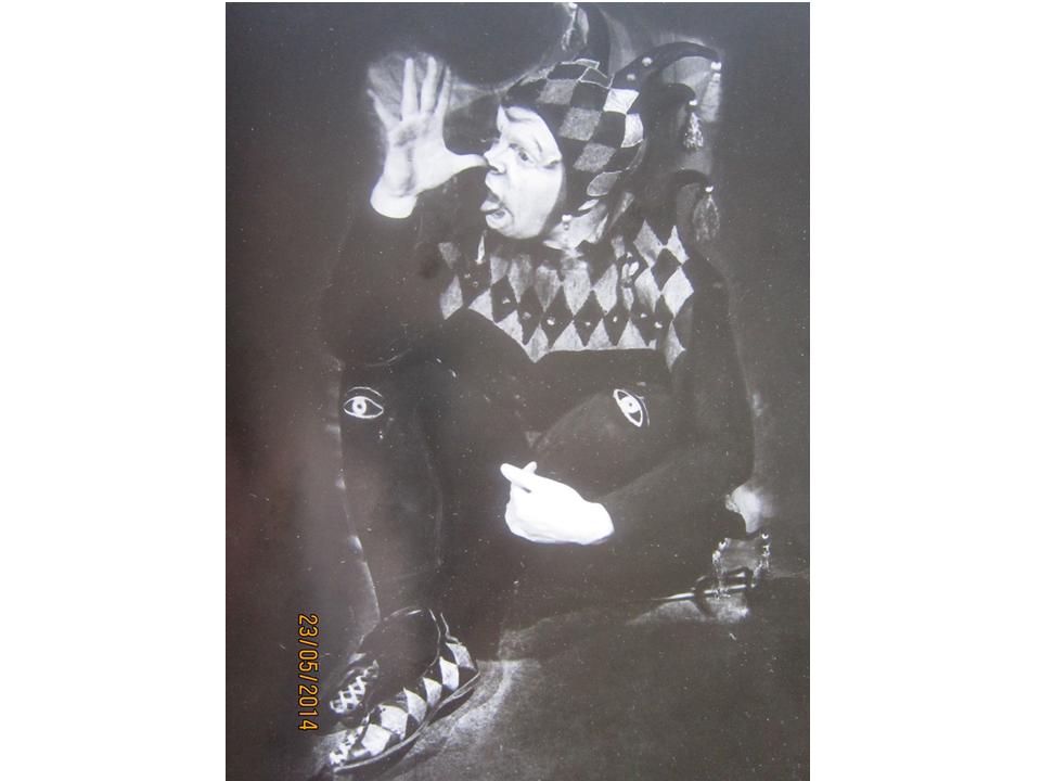 """לץ ב-""""מלך ליר"""", 1935"""