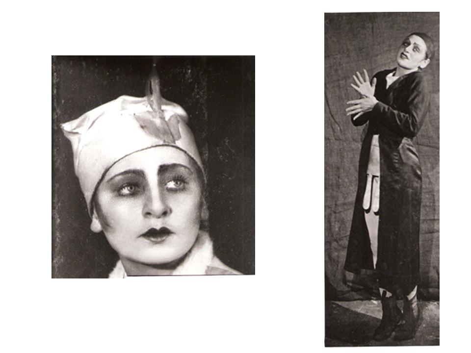 Эпизодические роли. Слева: «Десятая заповедь», 1926, справа: «Три еврейских изюминки», 1924
