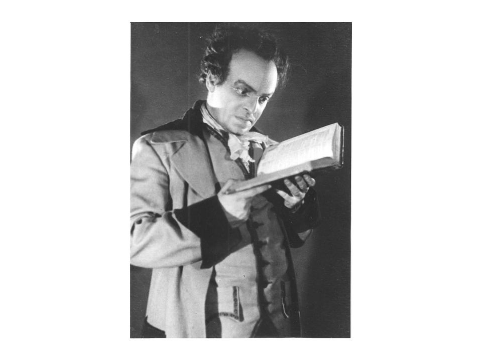 Соломон Маймон в спектакле «Соломон Маймон», 1940