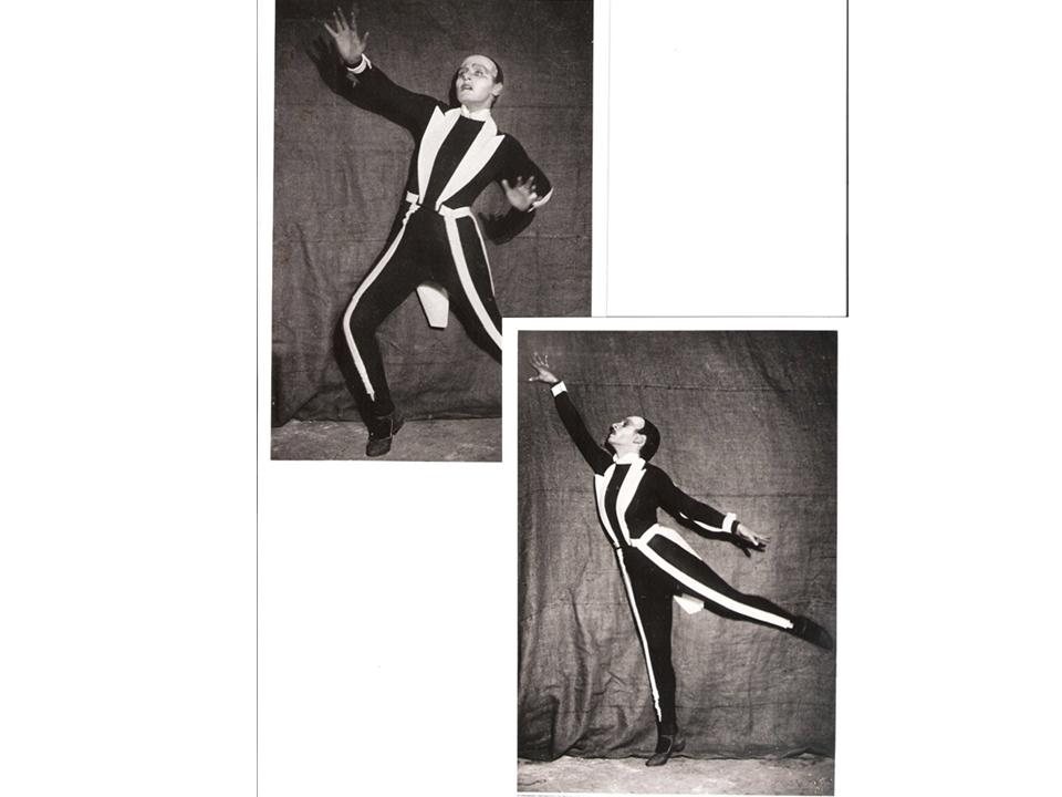 """רקדן ב-""""טרוהאדק"""", 1926"""