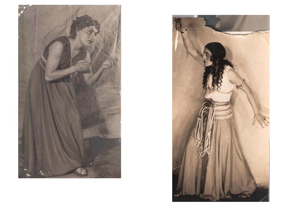 Загирь в «Бар-Кохбе» и Авигаиль в «Суламифи», 1938