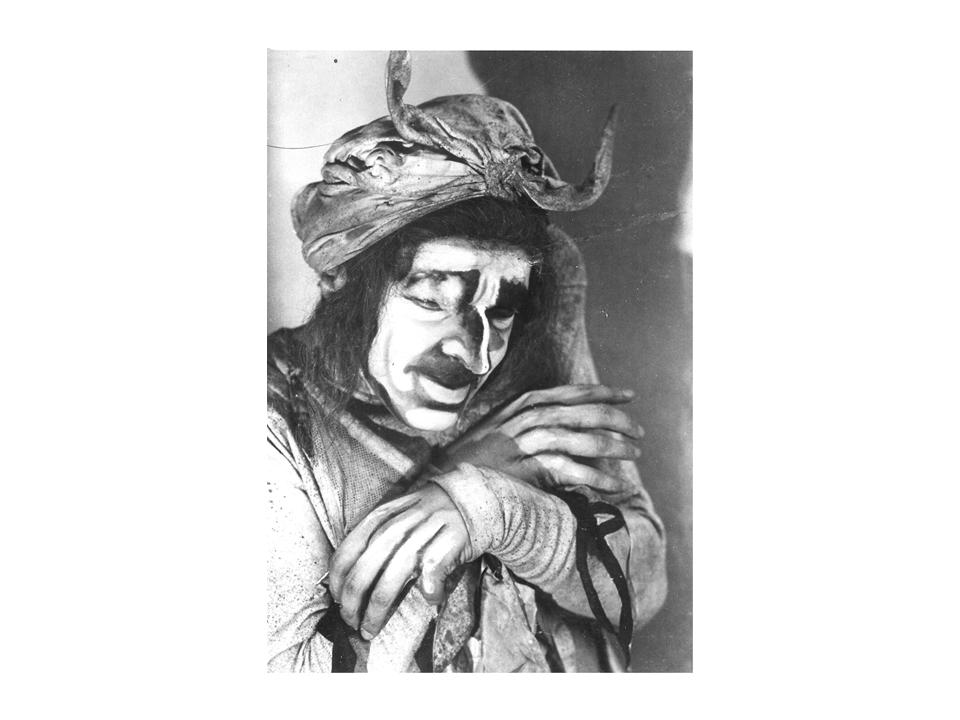 """מכשפה ב-""""המכשפה"""", 1922. תפקיד שהביא תהילה"""