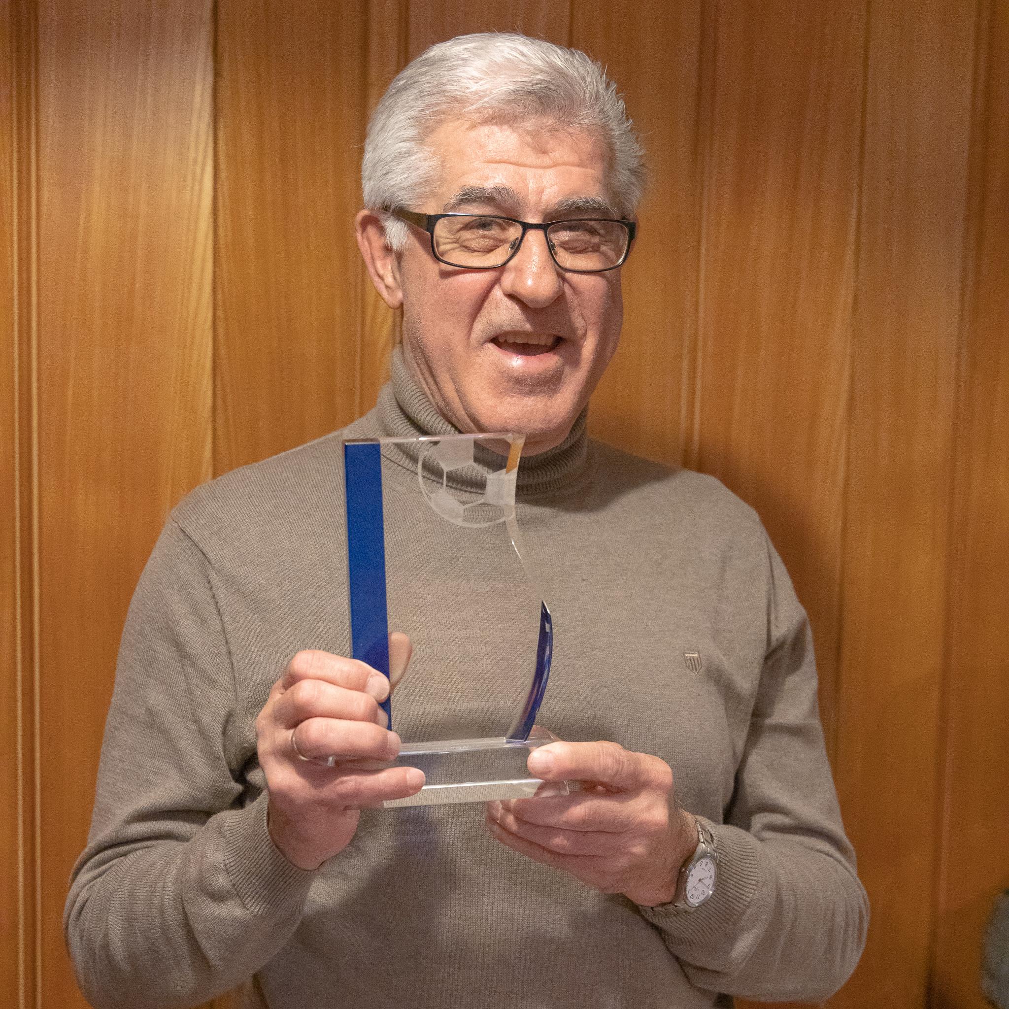 Rudi Miez, 57 Jahre Mitgliedschaft