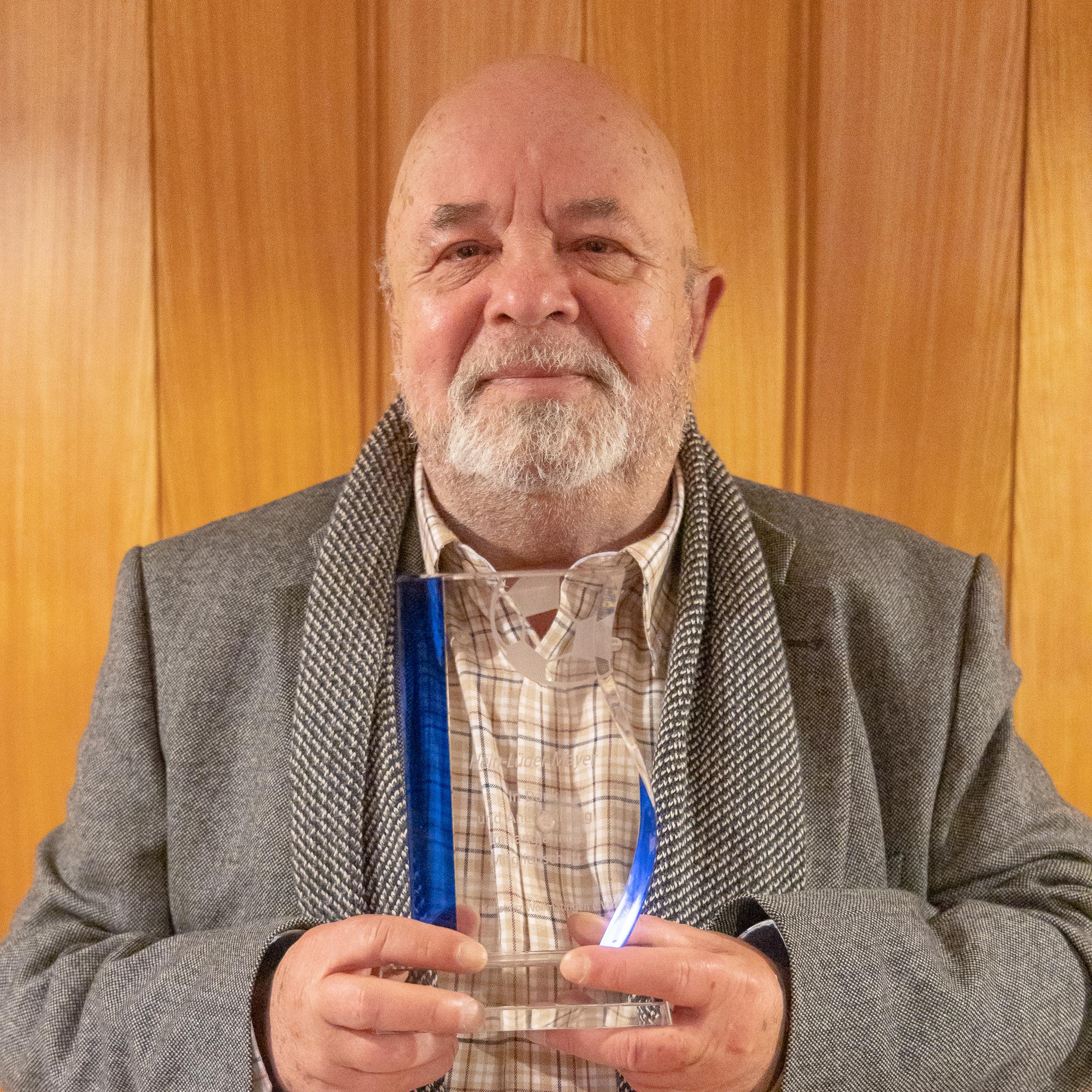 Hein-Lüder Mayer, 56 Jahre Mitgliedschaft