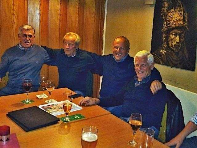 Unsere Topmodels Rudi, Ludwig, Rolf und Kurt ungeschminkt.