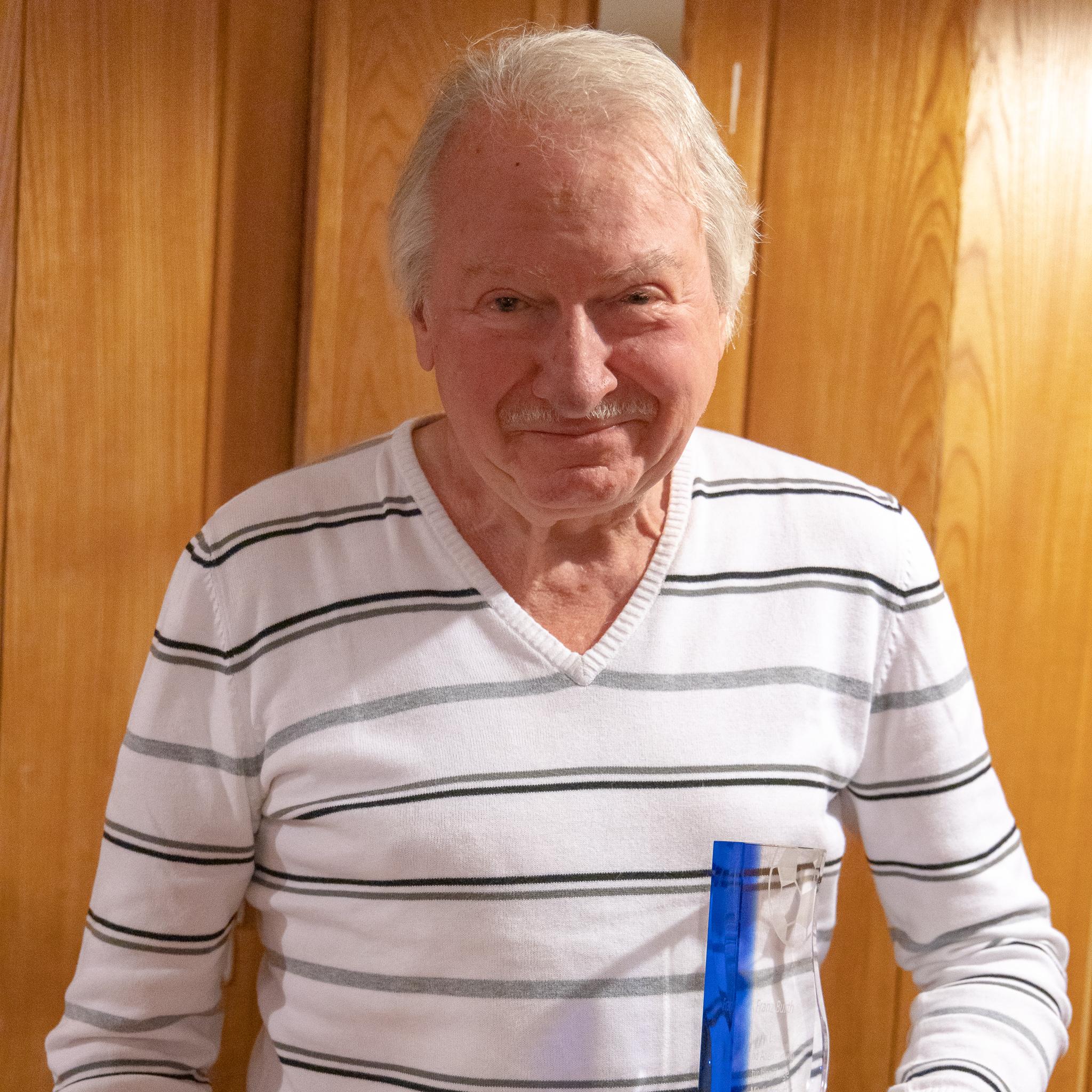Franz Burth, 57 Jahre Mitgliedschaft