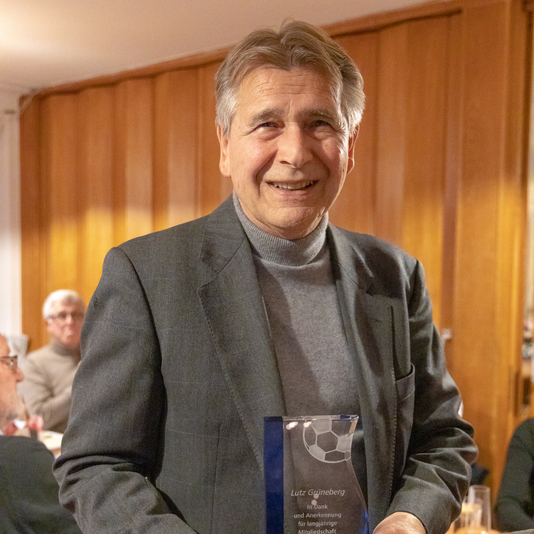 Lutz Grüneberg, 59 Jahre Mitgliedschaft