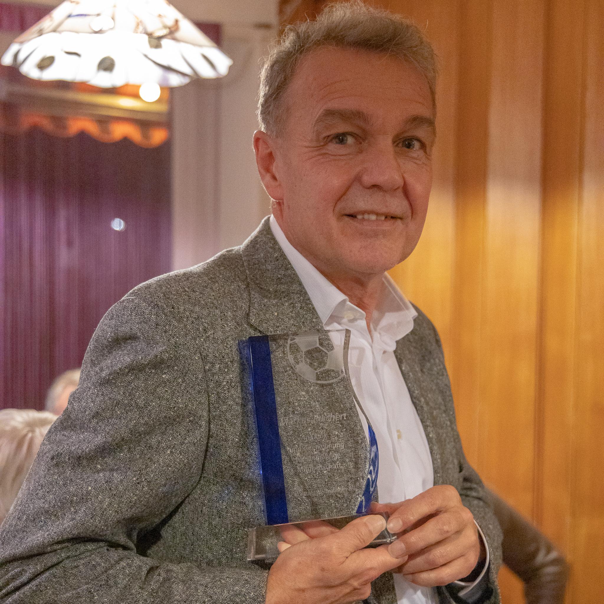 Markus Reichert, 52 Jahre Mitgliedschaft