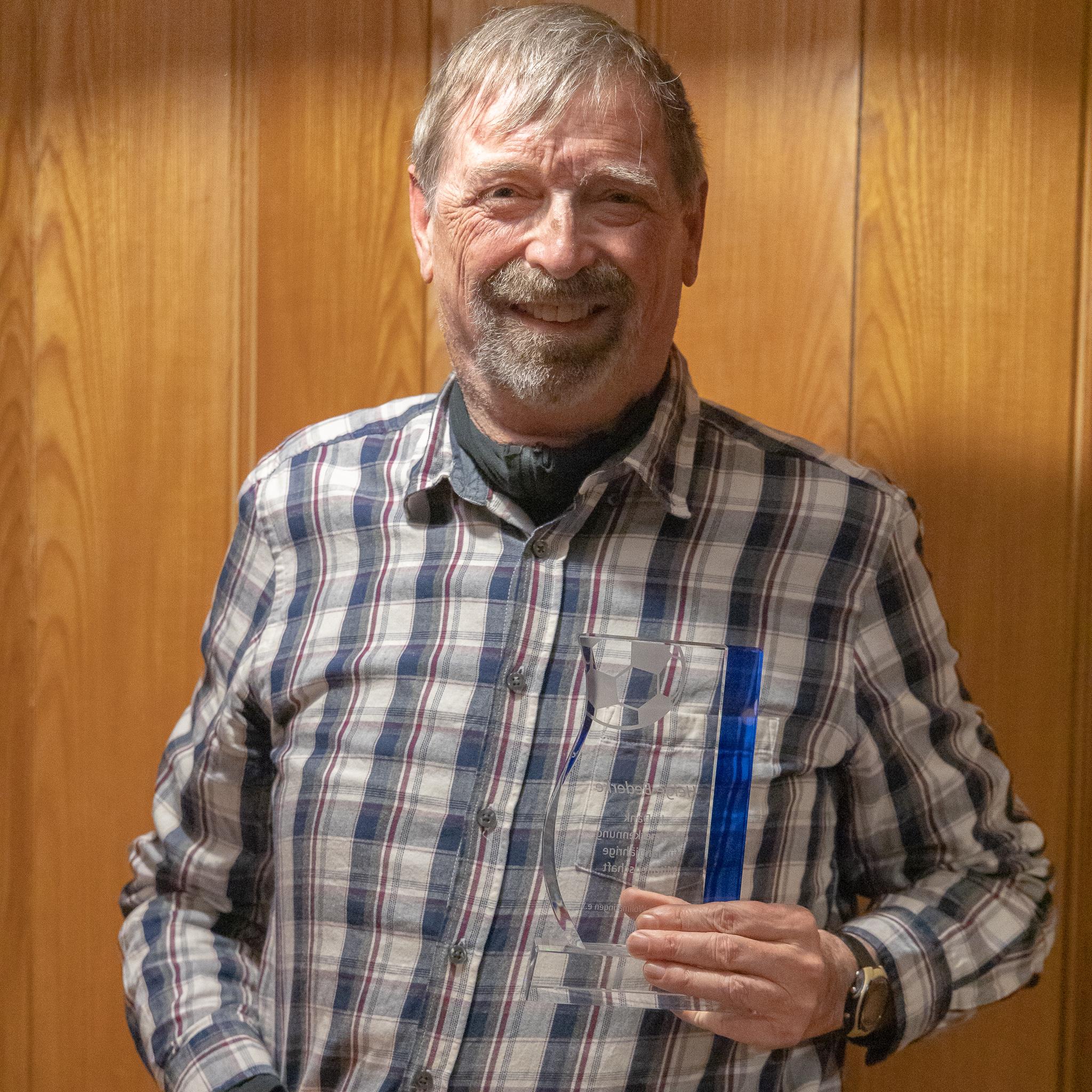 Helge Bederke, 54 Jahre Mitgliedschaft