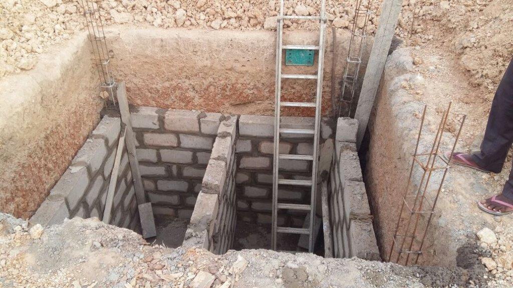 Chantier latrines