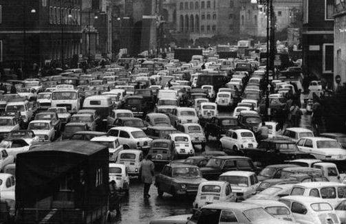 Auto caos anni 60