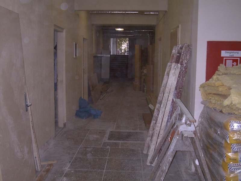 Der ehemalige Kellerbereich