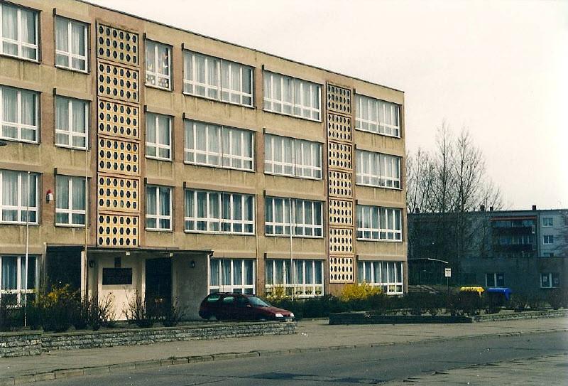Die Schule um 1995