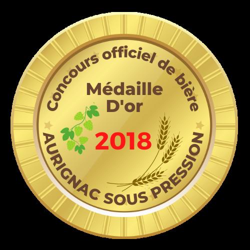 La Braxéenne médaille d'or Aurignac sous pression 2018