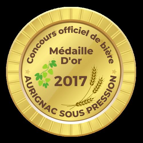 La Braxéenne médaille d'or Aurignac sous pression 2017
