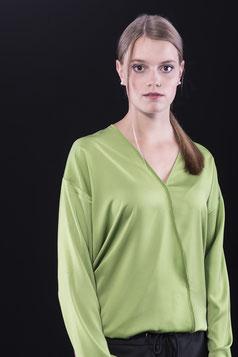 Tina Halbe Bluse Wien, grün