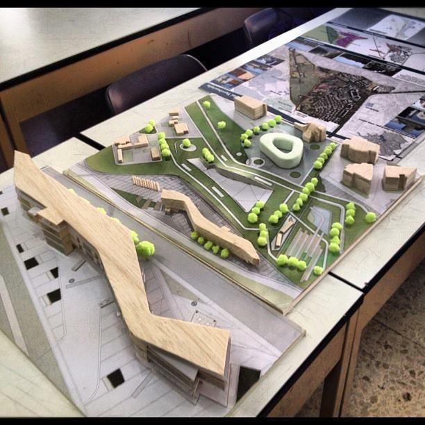 plastici della mia tesi di laurea riguardante la riqualificazione urbano del parco dell'appia antica a roma