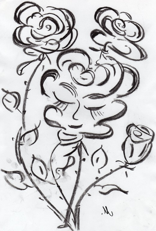 In Blume
