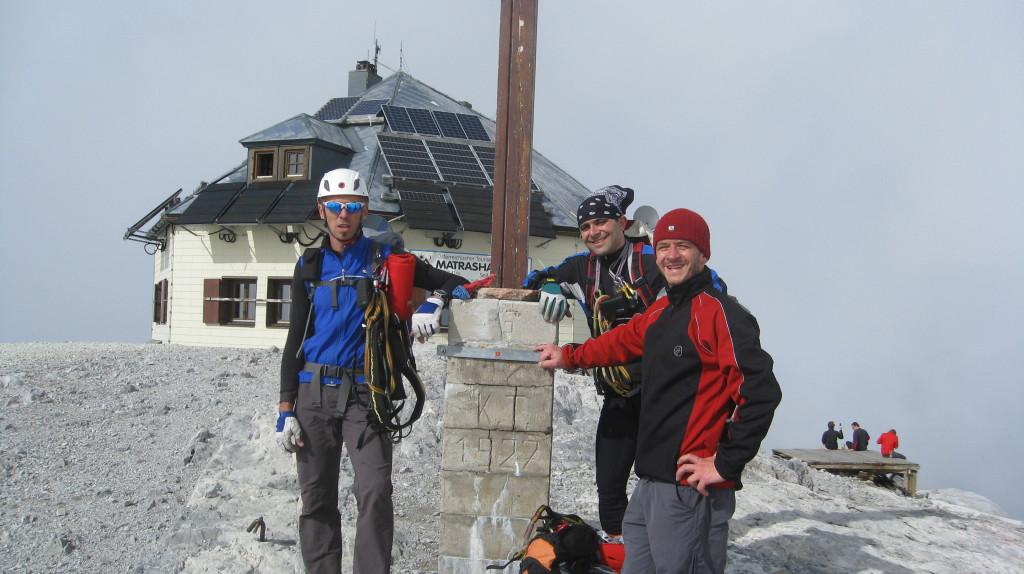 Gipfel Matrashaus 2941m