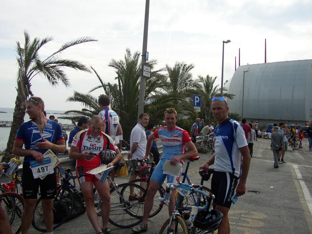 Ziel in San Remo 2003