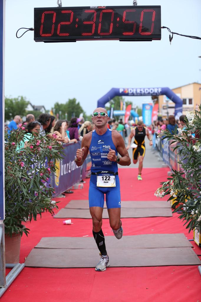 Olypischer Triathlon in Podersdorf