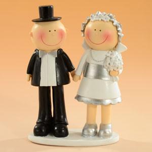 Sposi Argento 25 Anni Matrimonio H.15cm € 21,00