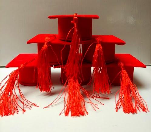 scatolina tocco rosso in alcantara