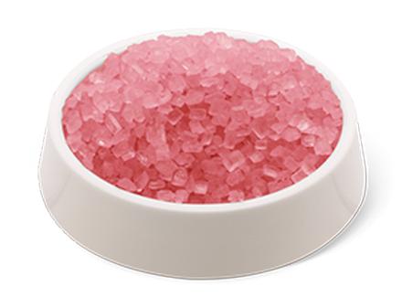 cristalli di zucchero rosa confezione da 500g