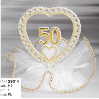 centro torta 50° anniversario € 7,50