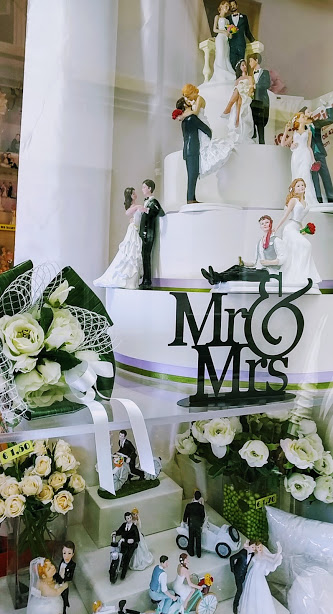 just  married cake topper di alto livello