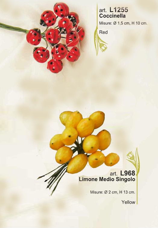 coccinelle da 12 pz € 1,50 - limone articolo esaurito