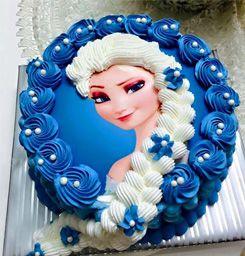 torta frozen treccia